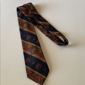 Polo by Ralph Lauren Tie Horses and Horseshoes